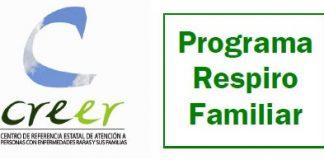 Programa respiro familiar creer