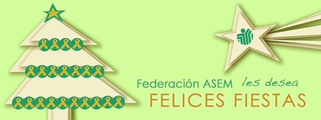 Federación ASEM os desea felices fiestas