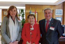 Reunion de Federacion ASEM con Pilar Farjas
