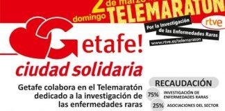 Getafe ciudad solidaria Telemaraton
