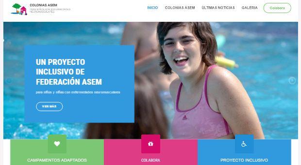 Nueva web de Colonias ASEM