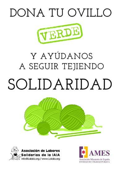 Tejiendo solidaridad AMES