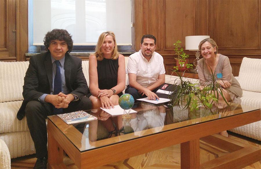 Reunión con Mario Garcés