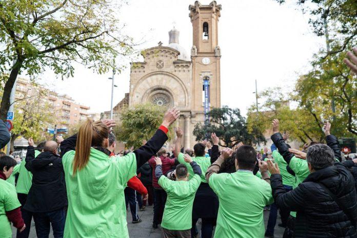 2018-12-Flashmob-Barcelona