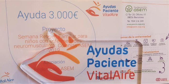 Premio VitalAire Colonias ASEM