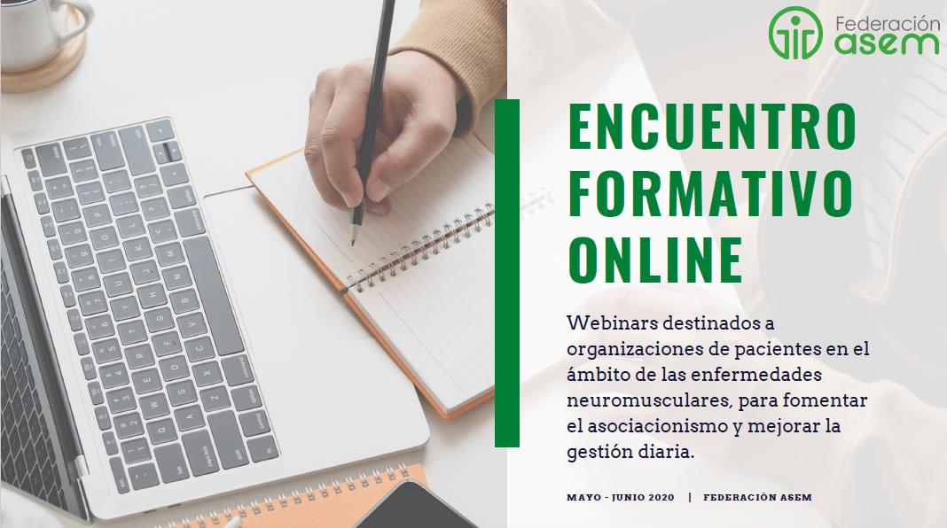 Encuentro formativo online ASEM